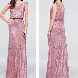 Women's Party/Prom/ Dress DAVIDS BRIDAL size M